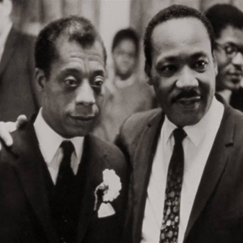 James Baldwin and MLK